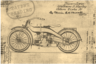motorcycle patent pending certificate
